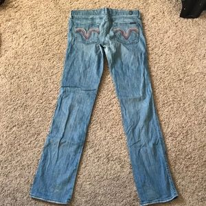 7 for all mankind Kate straight leg jeans 29